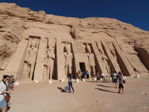 Temple to Nefertari, Abu Simbel. Photo/K.Segedin